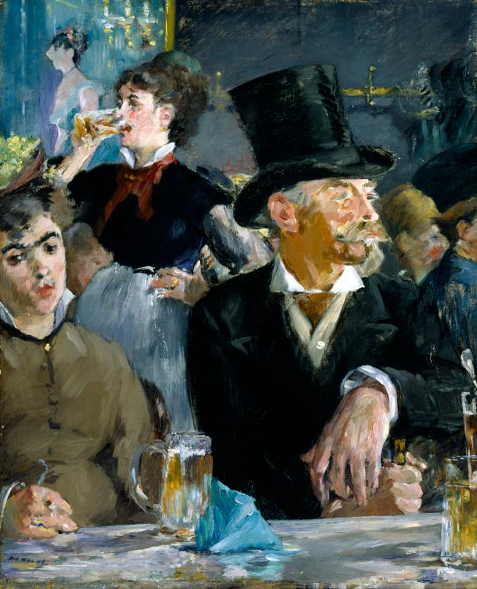 Café Concerto, 1872