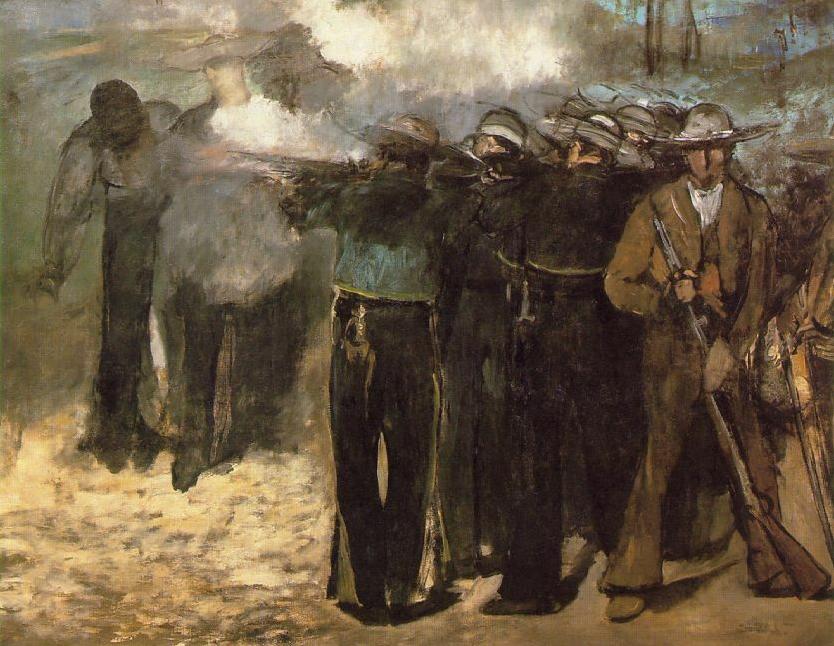 Execução do Imperador Maximiliano, 1867