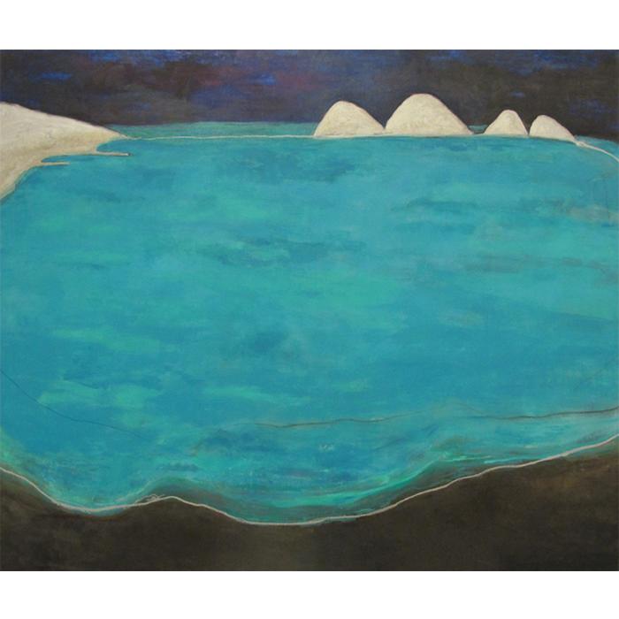 Marina Saleme Mar, 2013 Óleo sobre tela  200 x 245 cm