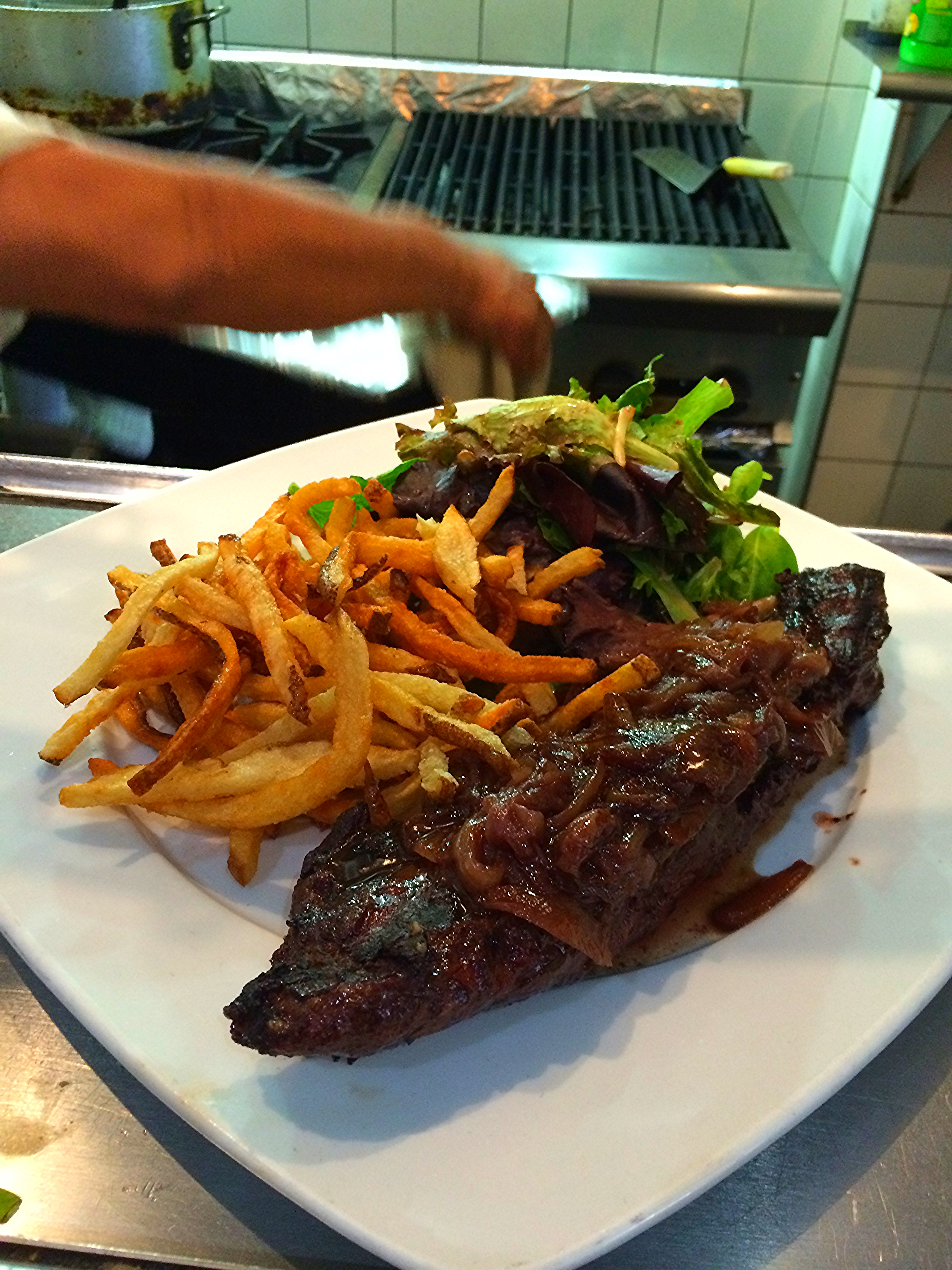 ... we can also grill one of our little butcher steaks for you... happy weekend!