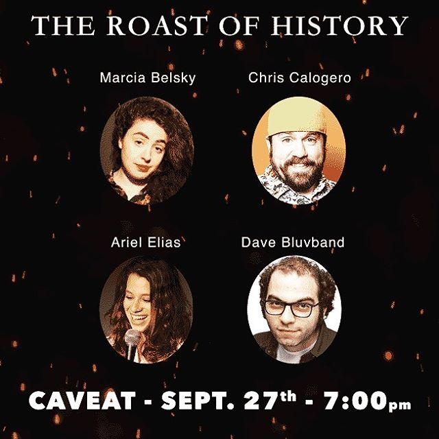 Friday! The roast returns with @marciasky @realchriscal @arielselias & @bluvbot  Get your tux now! Link in bio