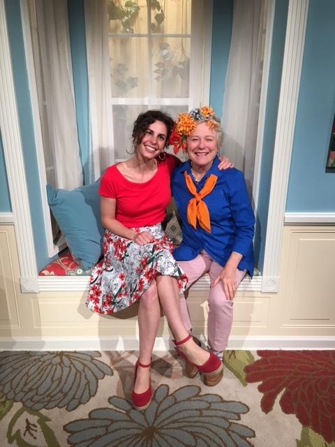 Trisha and Amanda McNulty, host of Making It Grow on SCEtv