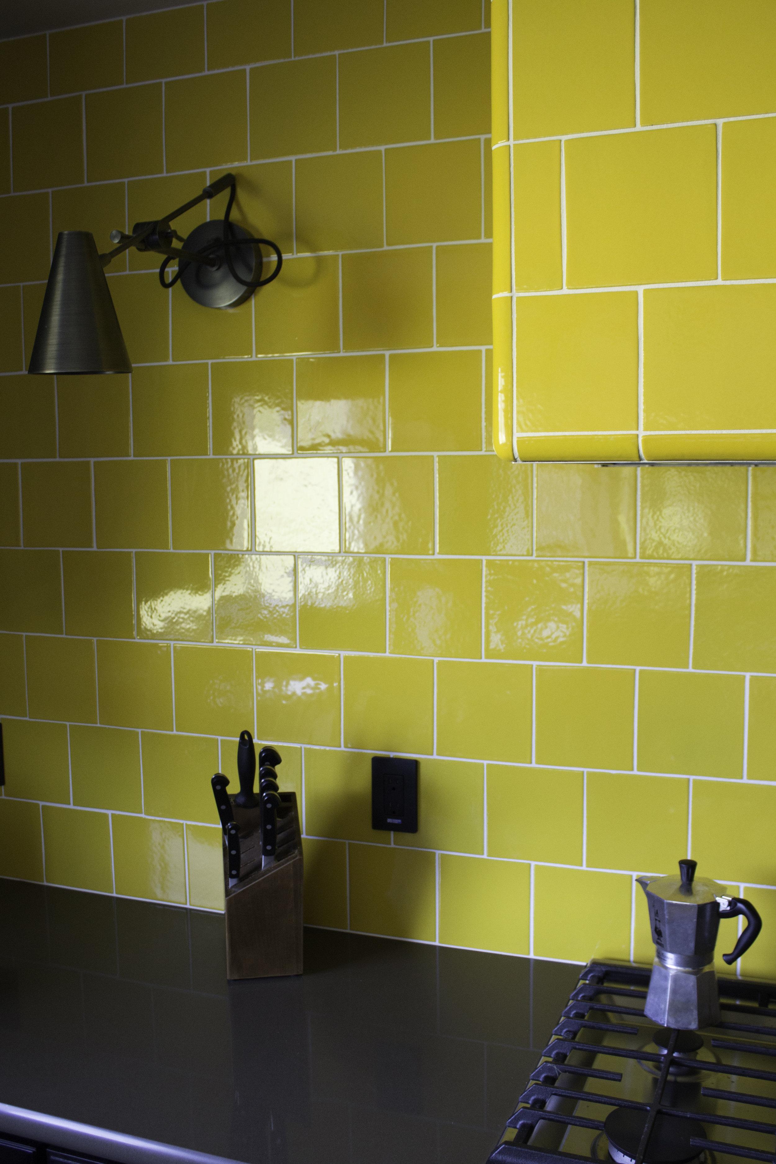Artobrick sunshine yellow tile