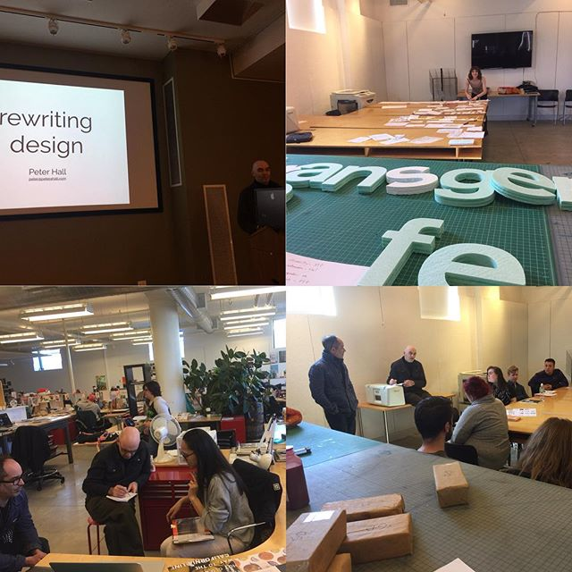 @designinquiry #rewrite day one with obstruction 🎲 to wrench throw thinking into new places of inspiration. 🤔