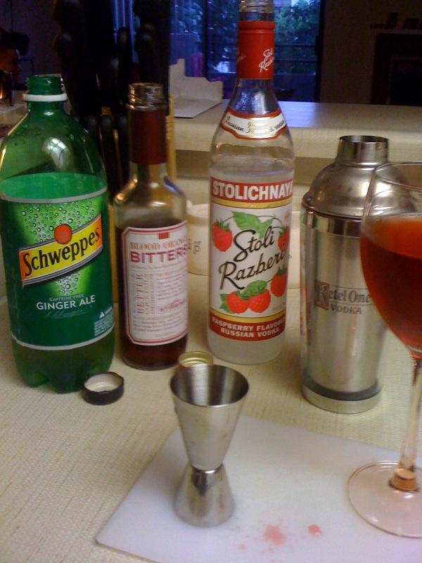 Bloody Orange Vodka