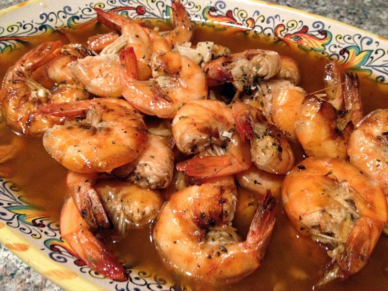 Boiling Crab-style Shrimp