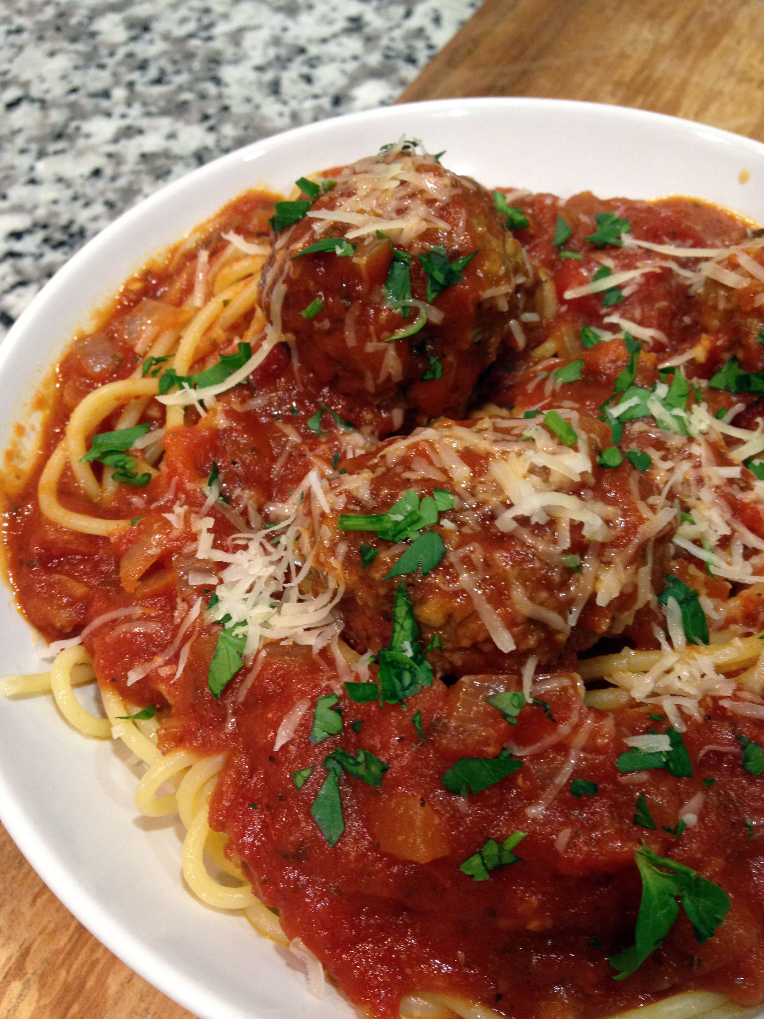 The Go-To Classic: Spaghetti & Meatballs