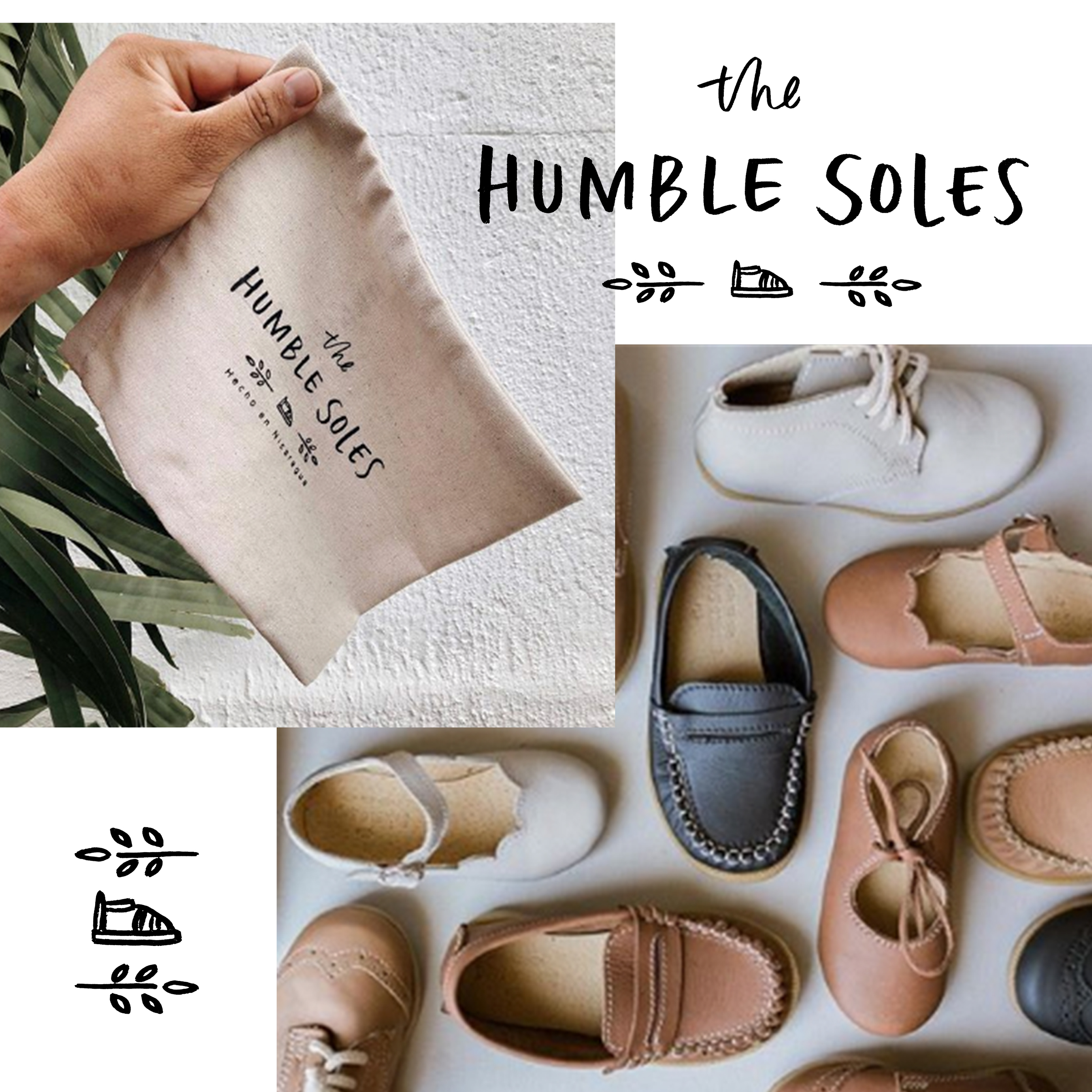 Project:  Logo and Icon Design   Client:  The Humble Soles   https://thehumblesoles.com/