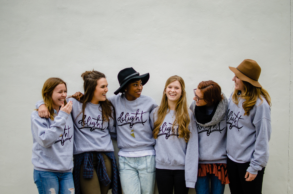 Project:  T-shirt and Sweatshirt Design   Client:  Delight Ministries   delightministries.com/store/