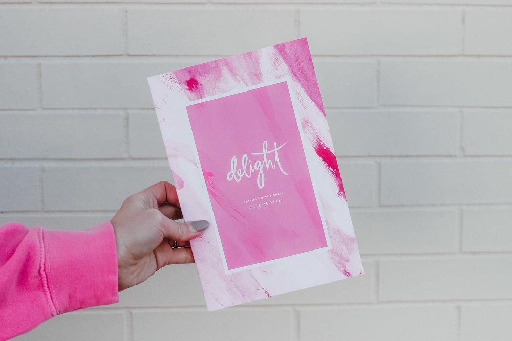 Project:  Cover Design for Delight Stories + Devotional Vol. 5   Client:  Delight Ministries   delightministries.com/store/