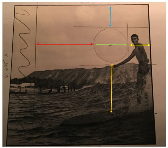 Here is how we used layouts to match the surfer to the window.
