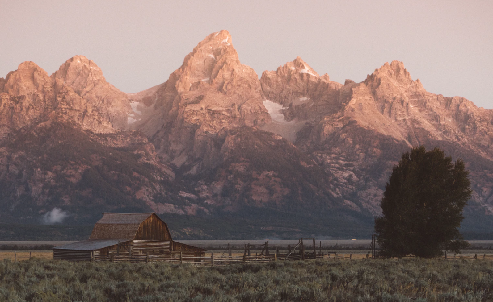 Grand Tetons. Photo by Adrian at Unsplash.com