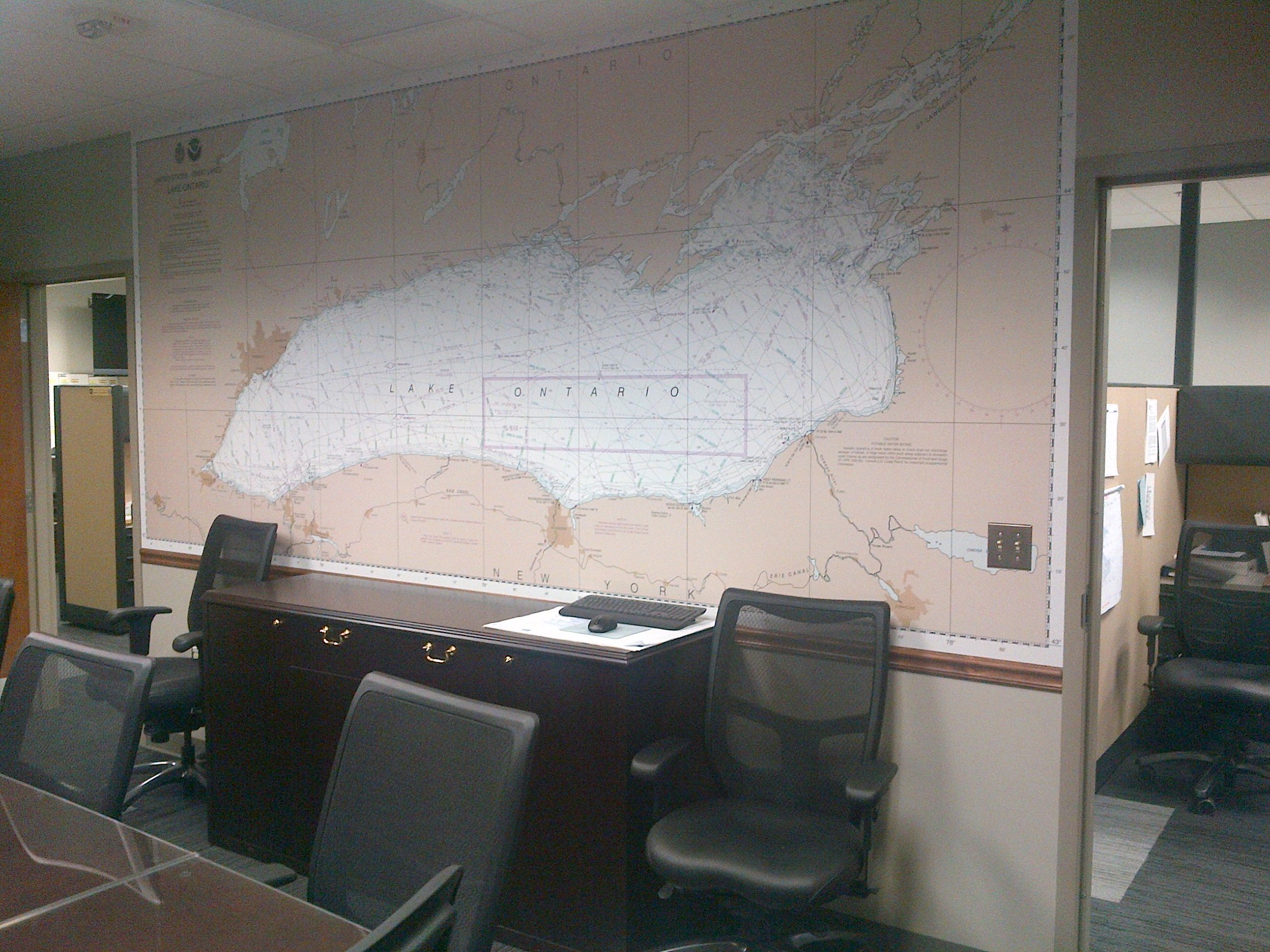 The border patrol uses our product in their strategy room to make assignments.