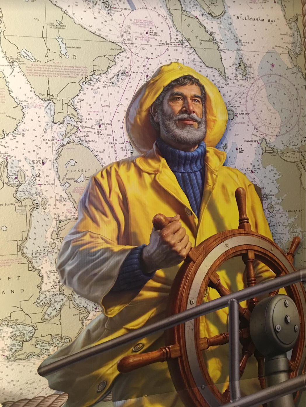 .  . . and after the Gorton's Fisherman finds new waters in which to sail.