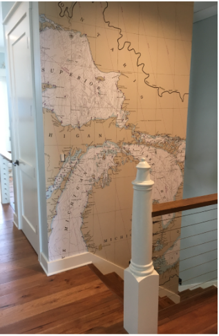 - Great Lakes Chart changes an awkward area to a conversation piece