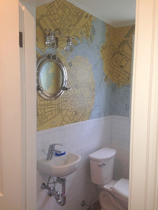 Porthole mirror ! - Our clients always impress me with their creative ides.