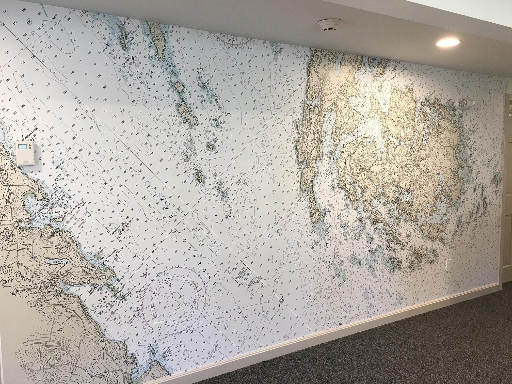 Bridgestone commercial Camden to Btridgestone Paul Fagan designed this mural.
