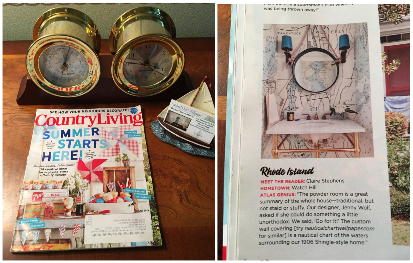 Our thanks to Jenny Wolf Interiors for submitting this article to Country Living Magazine.