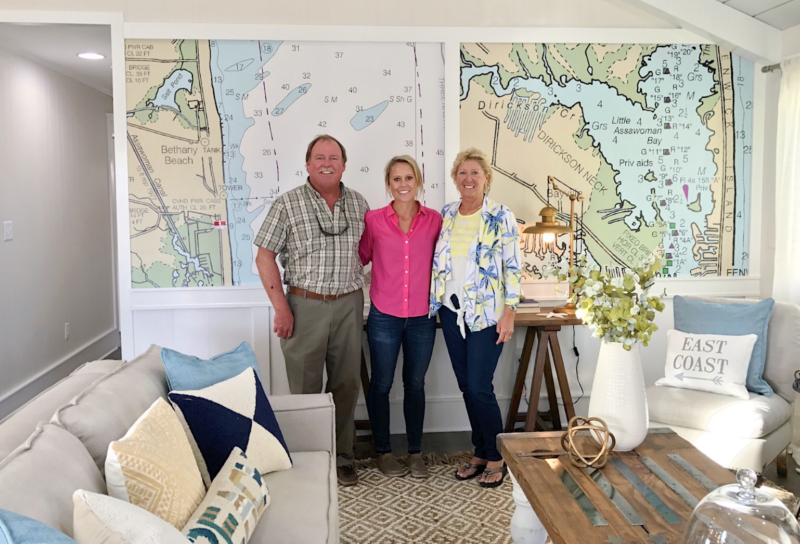 "Our beautiful murals were used by Marnie Oursler on DIY Network's ""Big Beach Builds"" The episode ""Captain's paradise"" featured areas of personal interest to the owners."