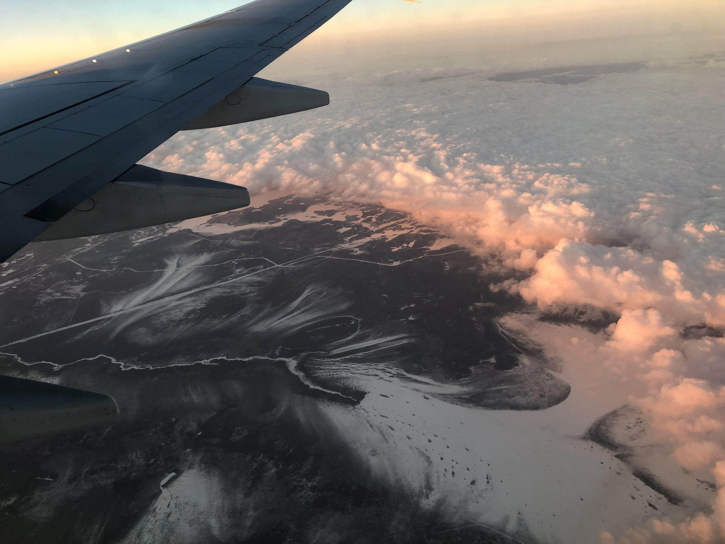 On the way to Winnipeg - March 2019