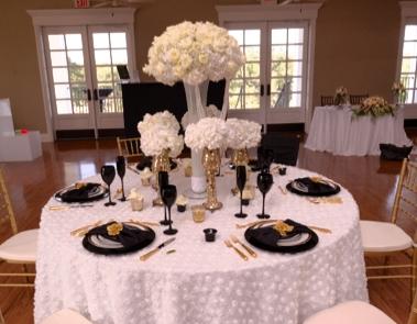 Table scape design by Chris Rodriguez,  Haute Weddings , Photo courtesy of  Limelight San Antonio