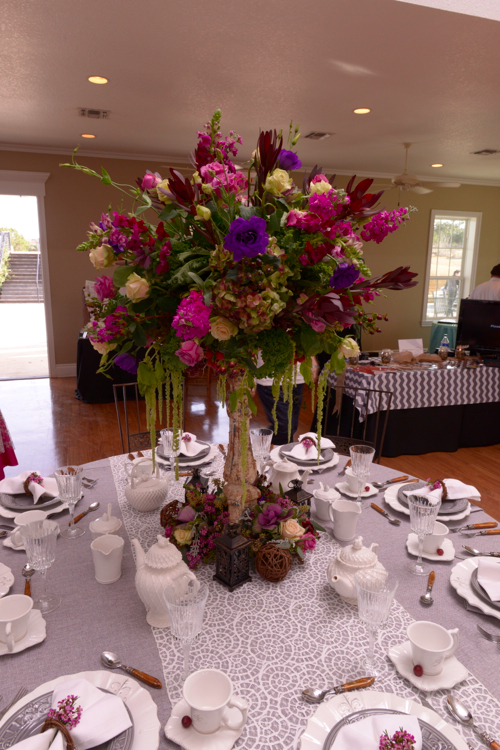 Table scape design by Maria Mwangi of  Signature Catering.  Photo courtesy of  Limelight San Antonio