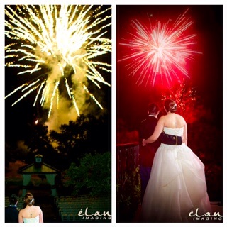 Photo Credit:  Élan Imaging   Fireworks by  Starlight Fireworks and FX