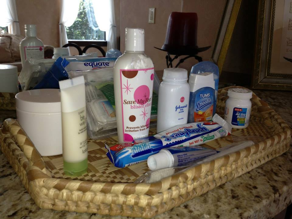 Photo Credit:  Haute Weddings    Here is an emergency kit put together by one of my Hauttie's Mommy for her wedding day.