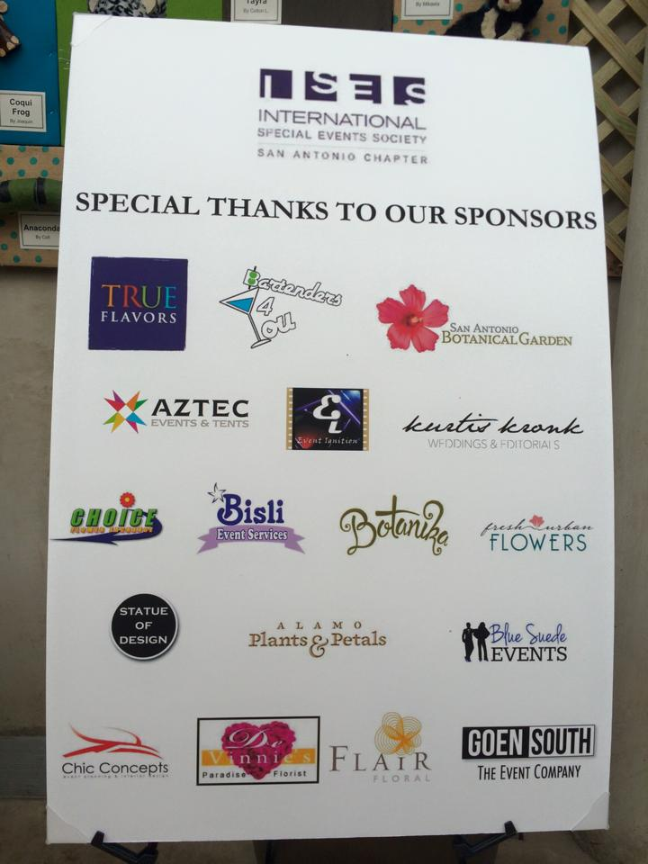All of our wonderful and generous sponsors!
