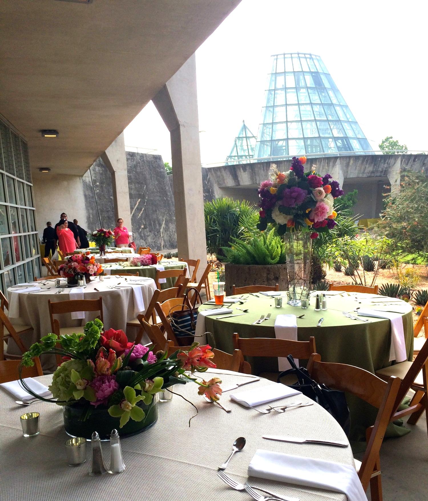 ISES San Antonio Floral Trends 2015 @ San Antonio Botanical Garden