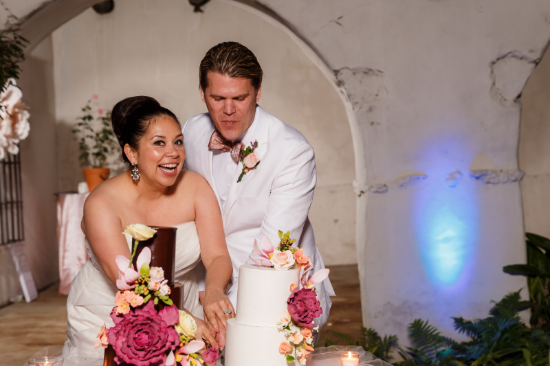 Choose the right vendors, and your wedding day will be full of smiles. Photo credit:  Mark Thomas Pro Photo