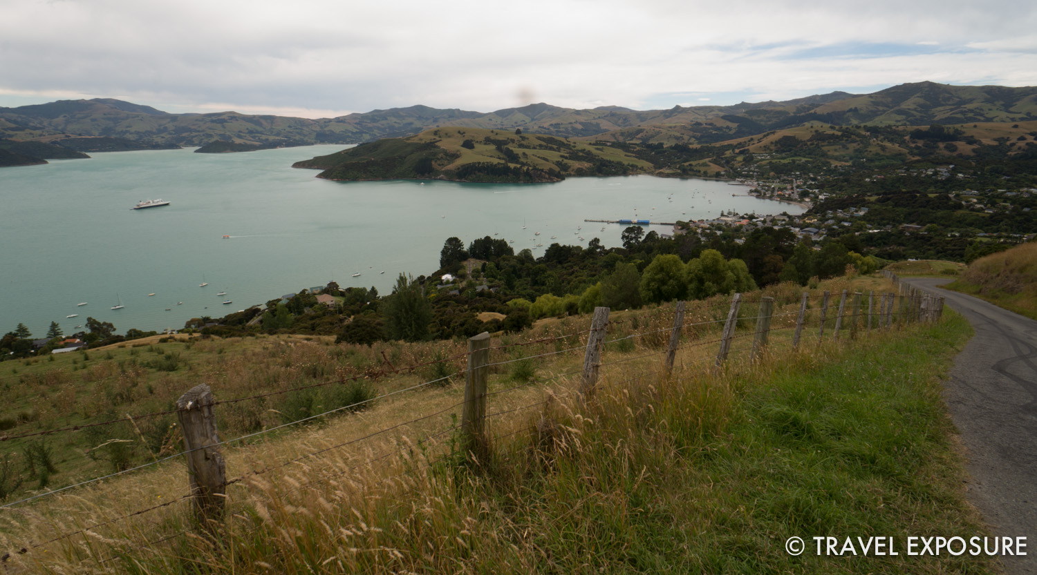 View of Akaroa