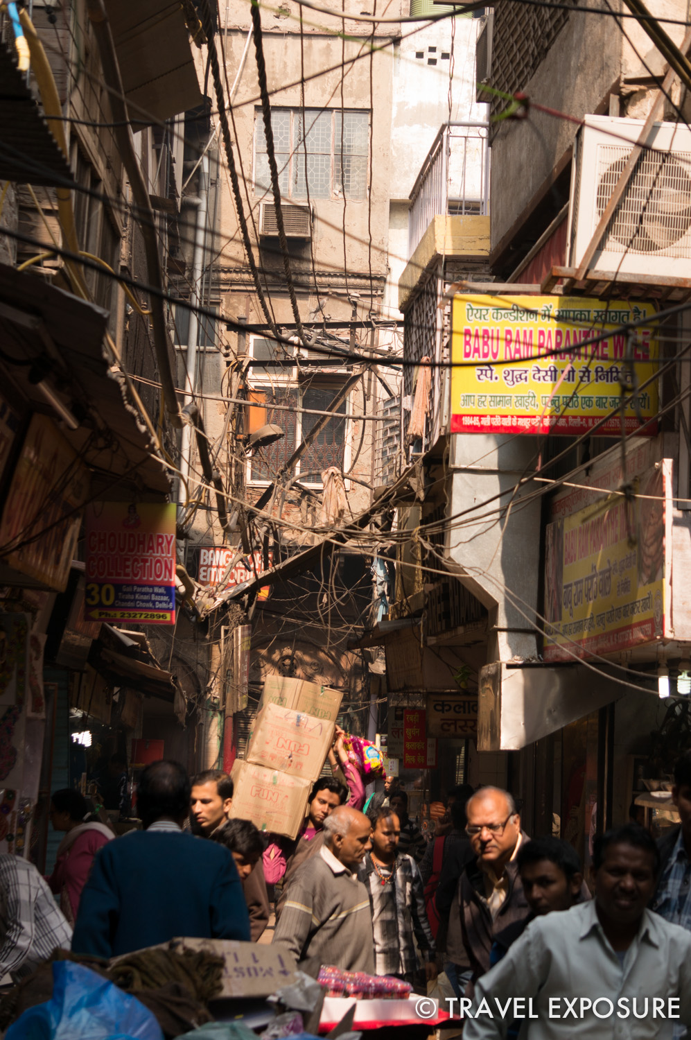 Root snapped a quick photo while walking through the smaller back alleys of old Delhi.