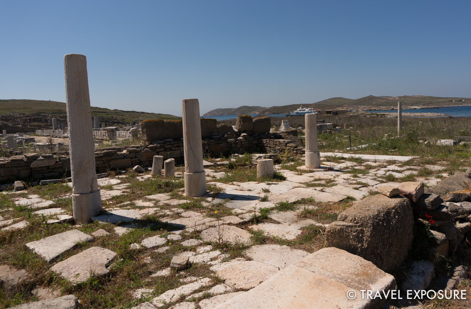 All that remains of the Temple of Apollo