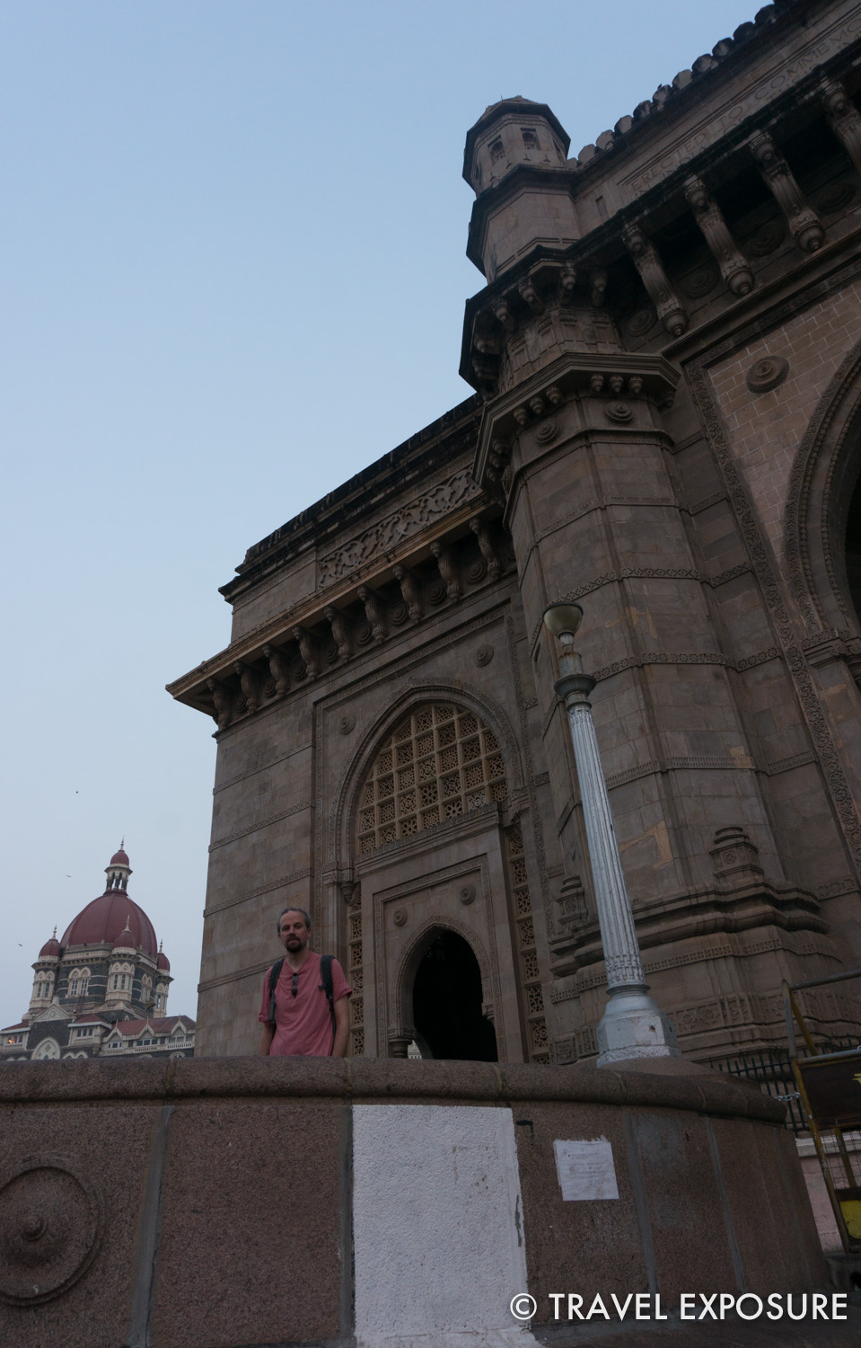 The Gateway of India monument, built during the British Raj in Mumbai