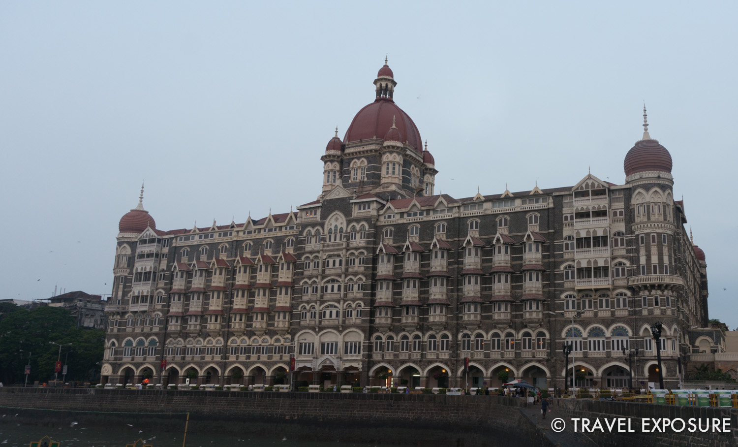 The famous Taj Mahal Palace hotel in Mumbai