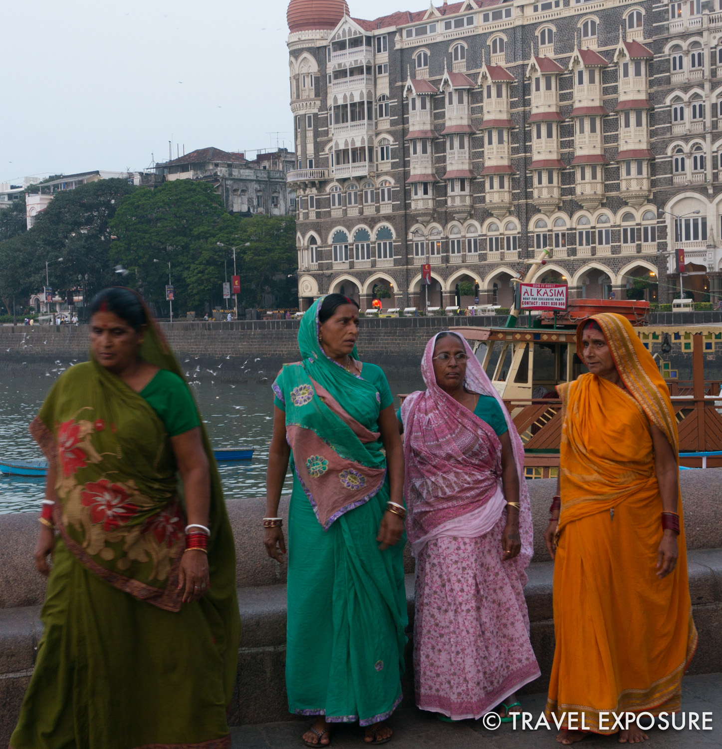 Beautiful women in Mumbai