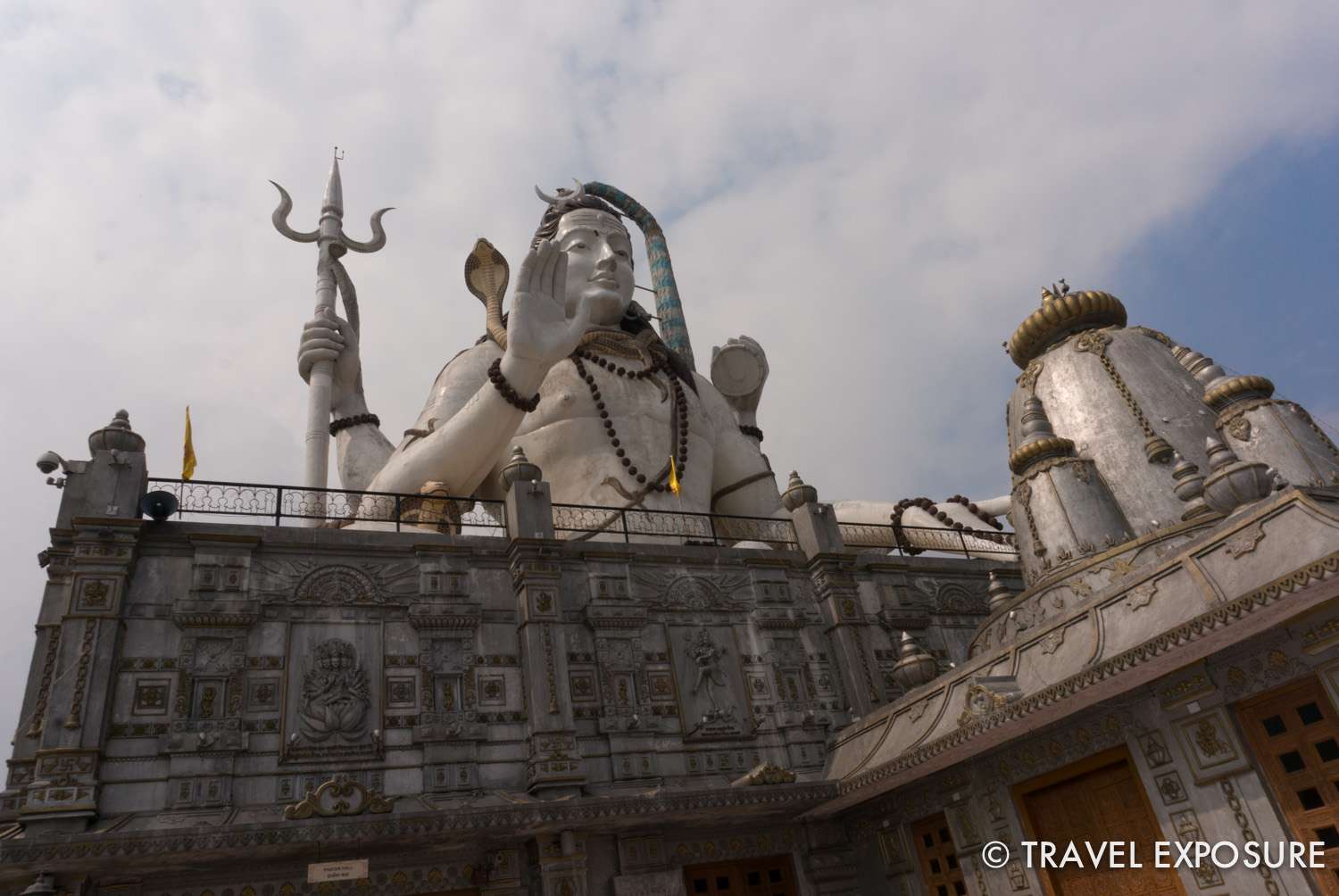 108 foot tall statue of Lord Shiva, at Chardham, in Namchi, Sikkim.