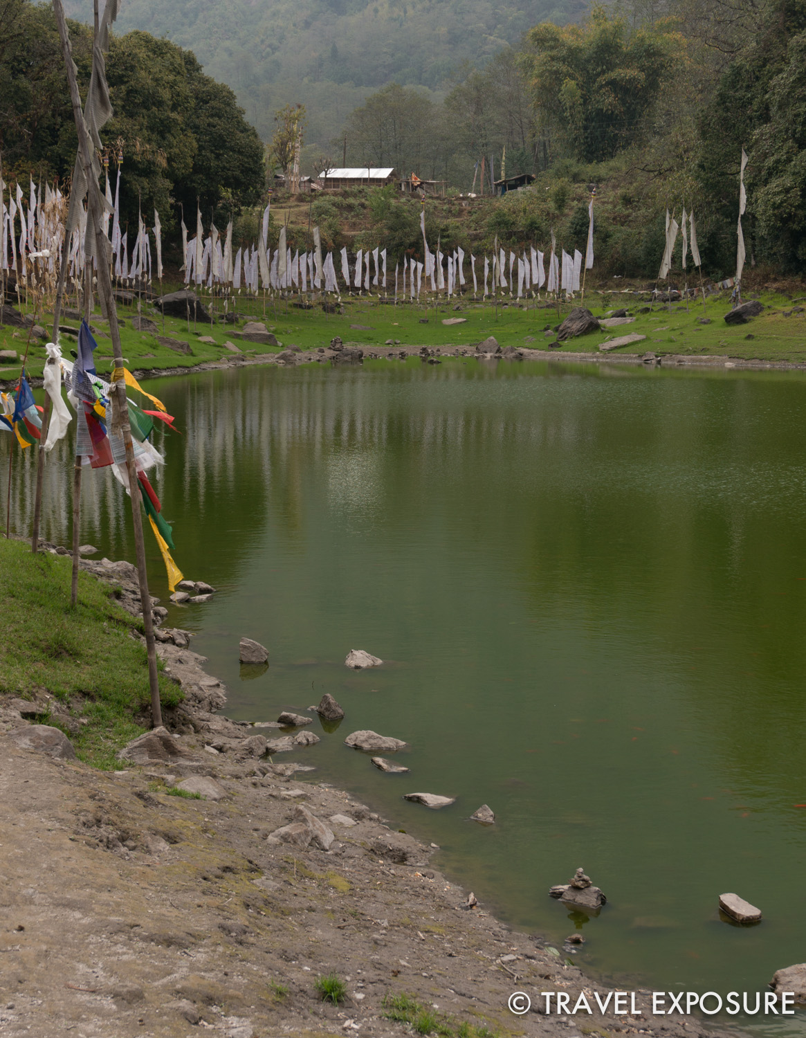 Kathok Lake in Yuksom, Sikkim