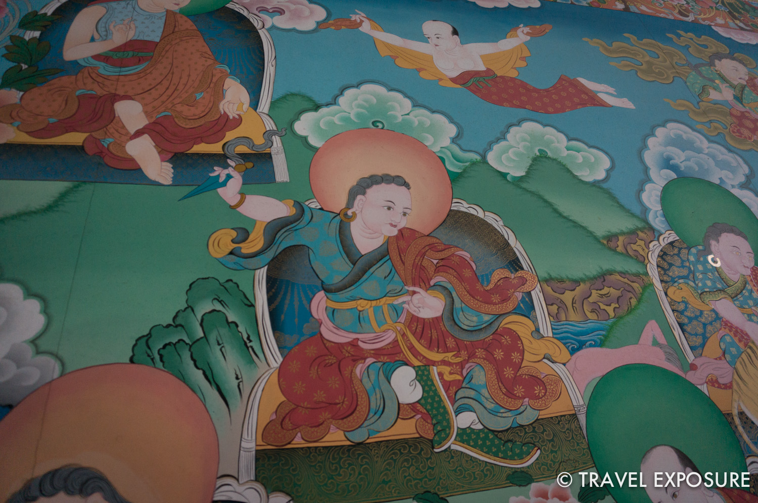 At Pemayangtse Monastery, in Sikkim