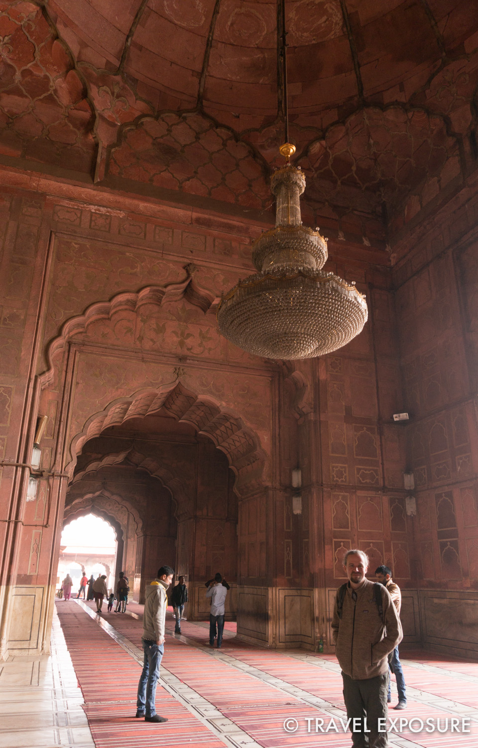 Jama Masjid, a mosque in Old Delhi