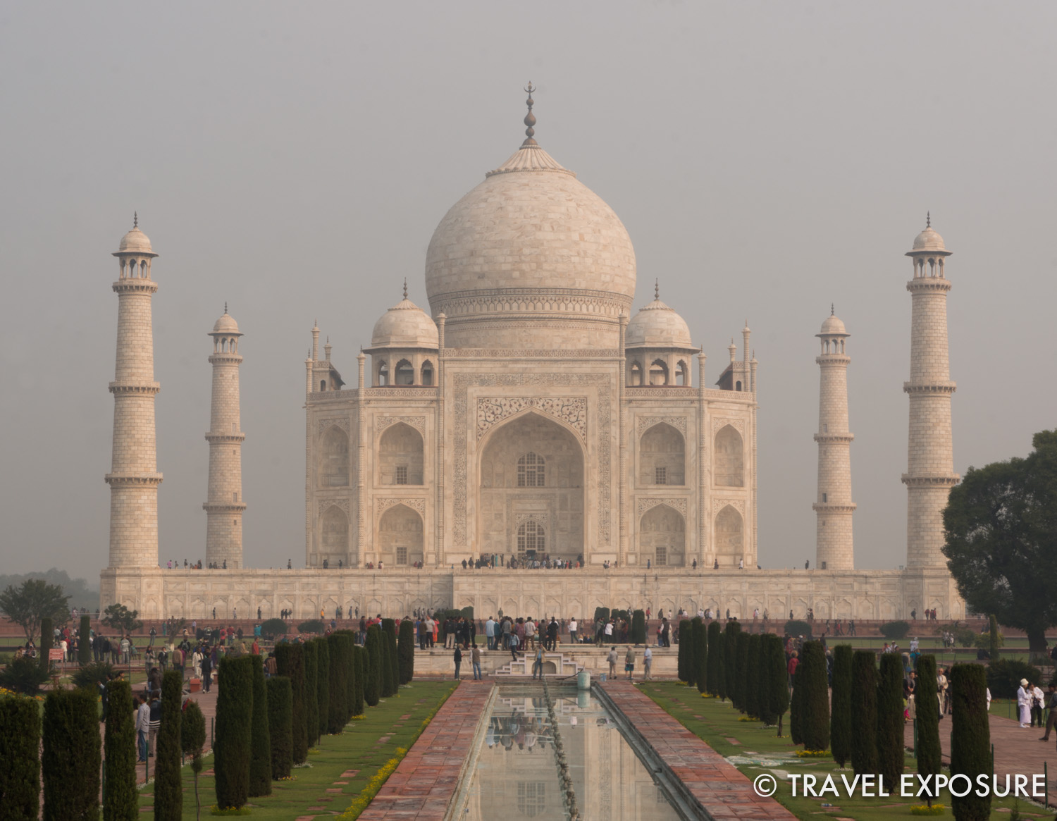 The elegant and majestic Taj Mahal