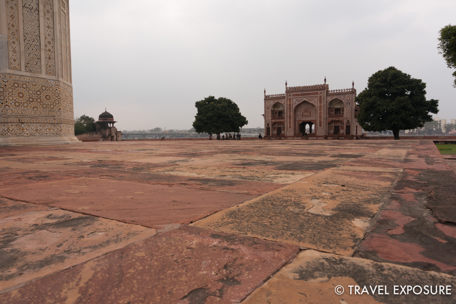 "Also known as ""Baby Taj"", the tomb of I'timād-ud-Daulah, a Mughal mausoleum in Agra"