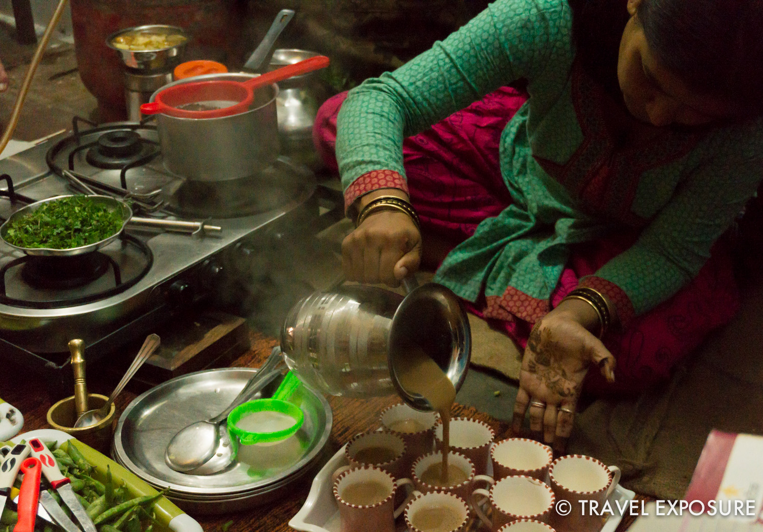 Local cooking class in Orchha