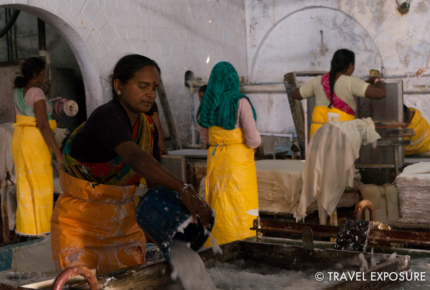 Tarragram, a paper making plant, set up to assist tribal women