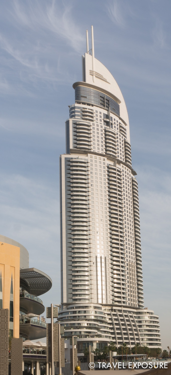The Address (a hotel), in downtown Dubai.