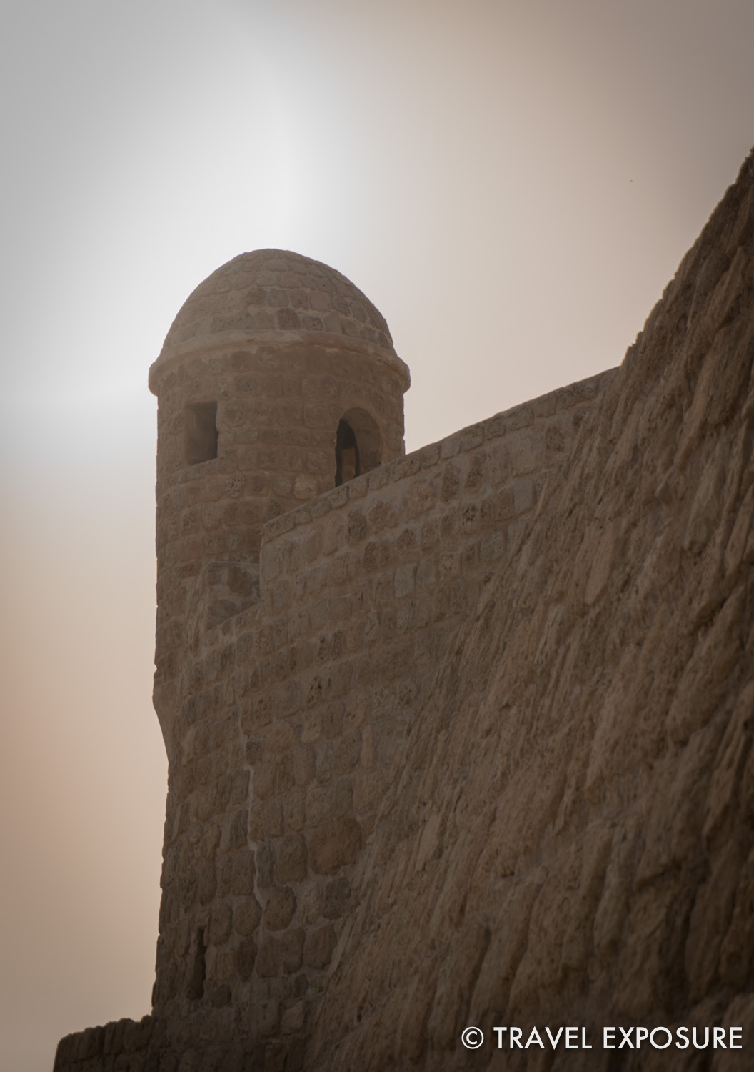 Exploring the ancient Bahrain Fort.