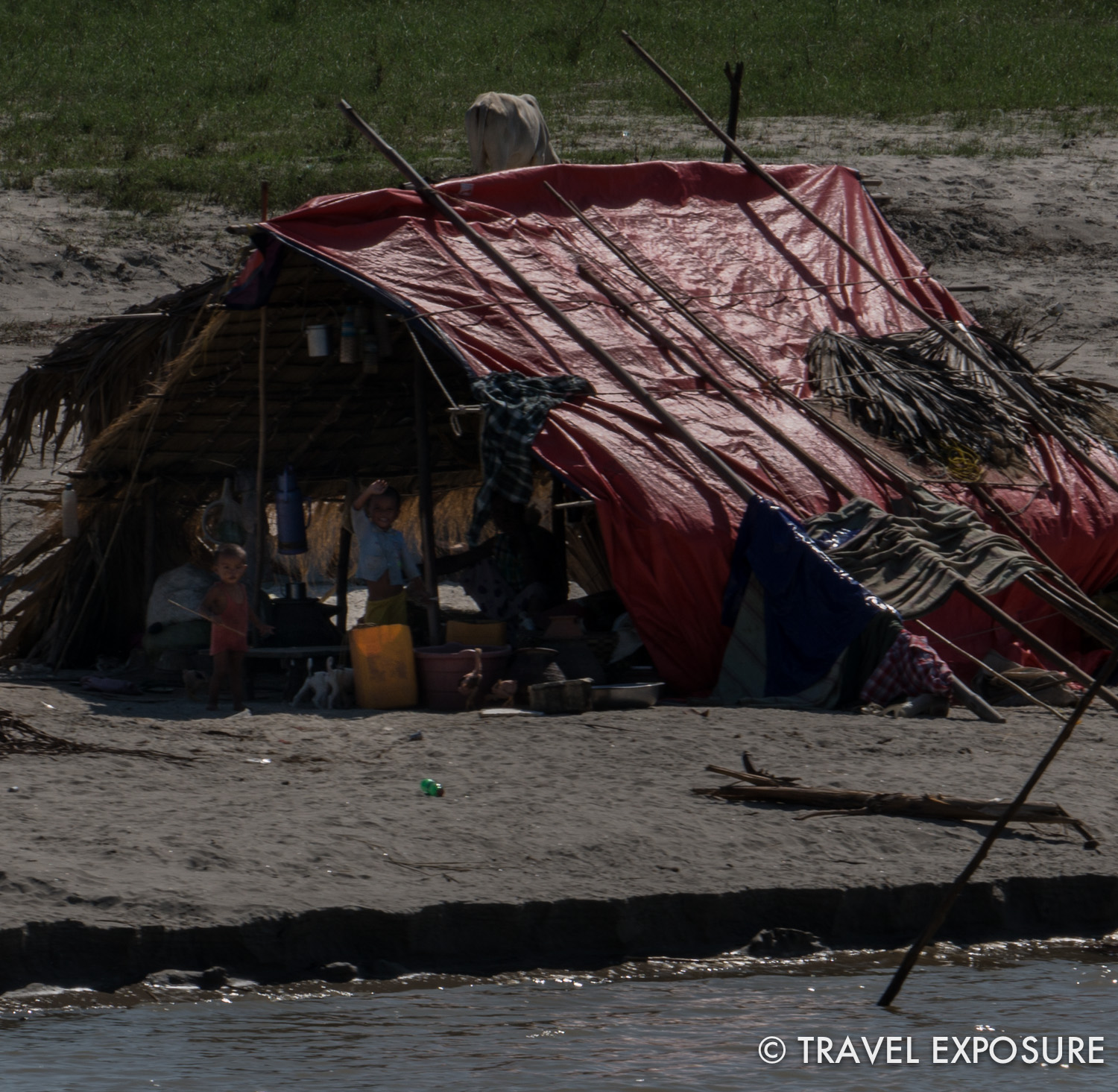 Life on the Irrawaddy River.