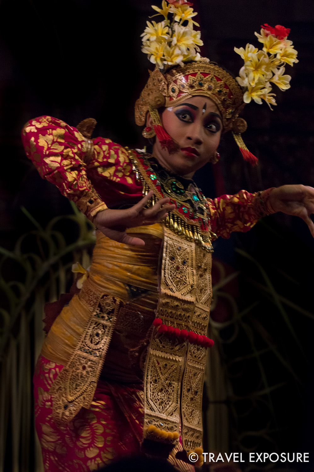Dancer in Ubud, Indonesia.