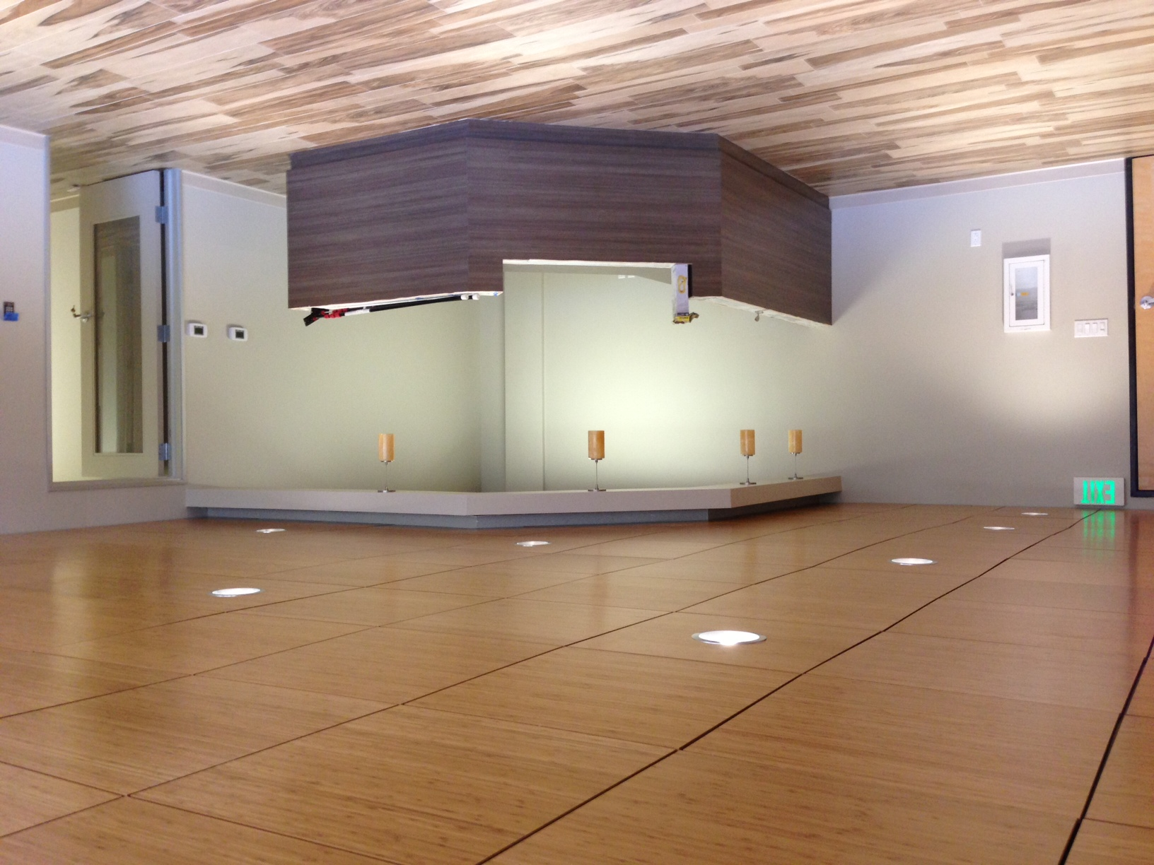 Acoustical Ceiling Tiles - We install t-bar ceiling grid, typically used in commercial settings.